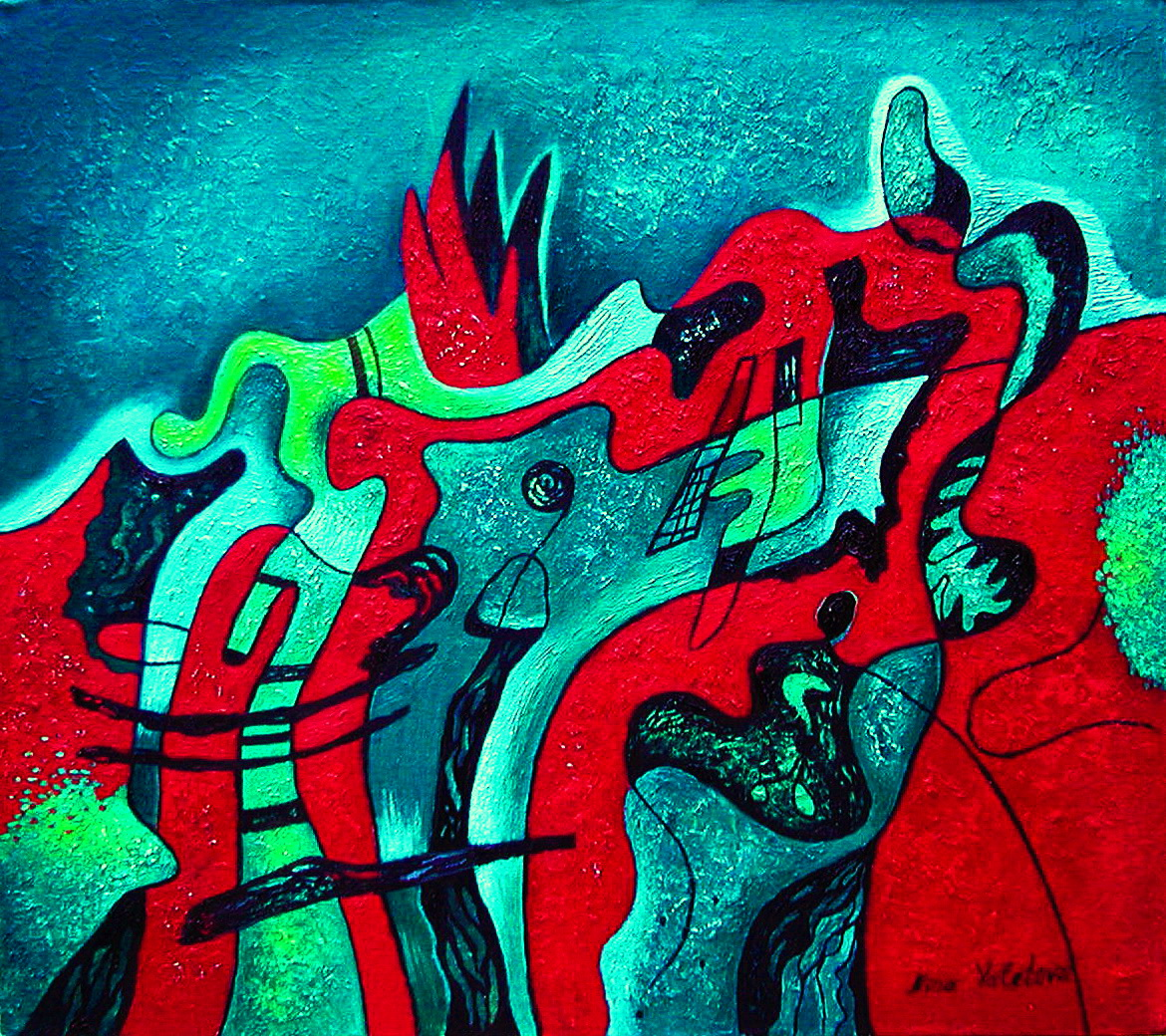 Assimilation and Dissimilation 75x88 (cmxcm) 2002.JPG