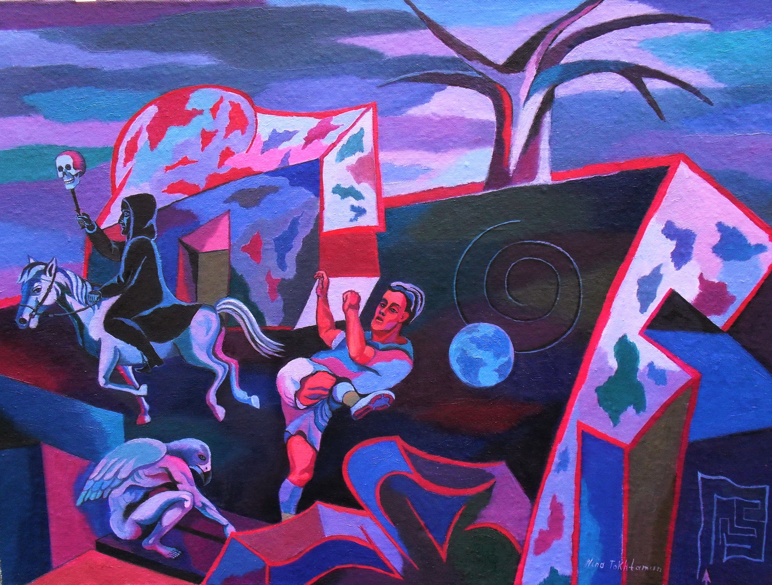 Myths and Prophecies of the End of the World 60  cm x 80 cm 2009 oil .jpg